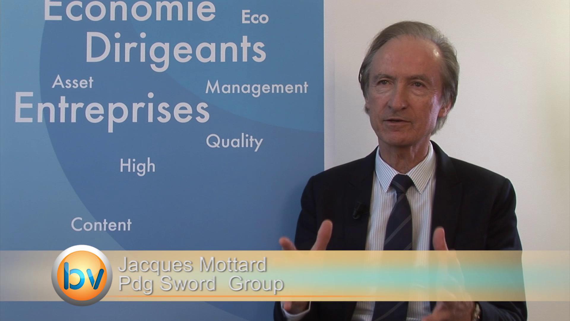 Jacques Mottard Pdg Sword Group : «La croissance à deux chiffres pour les trois prochaines années est assurée»