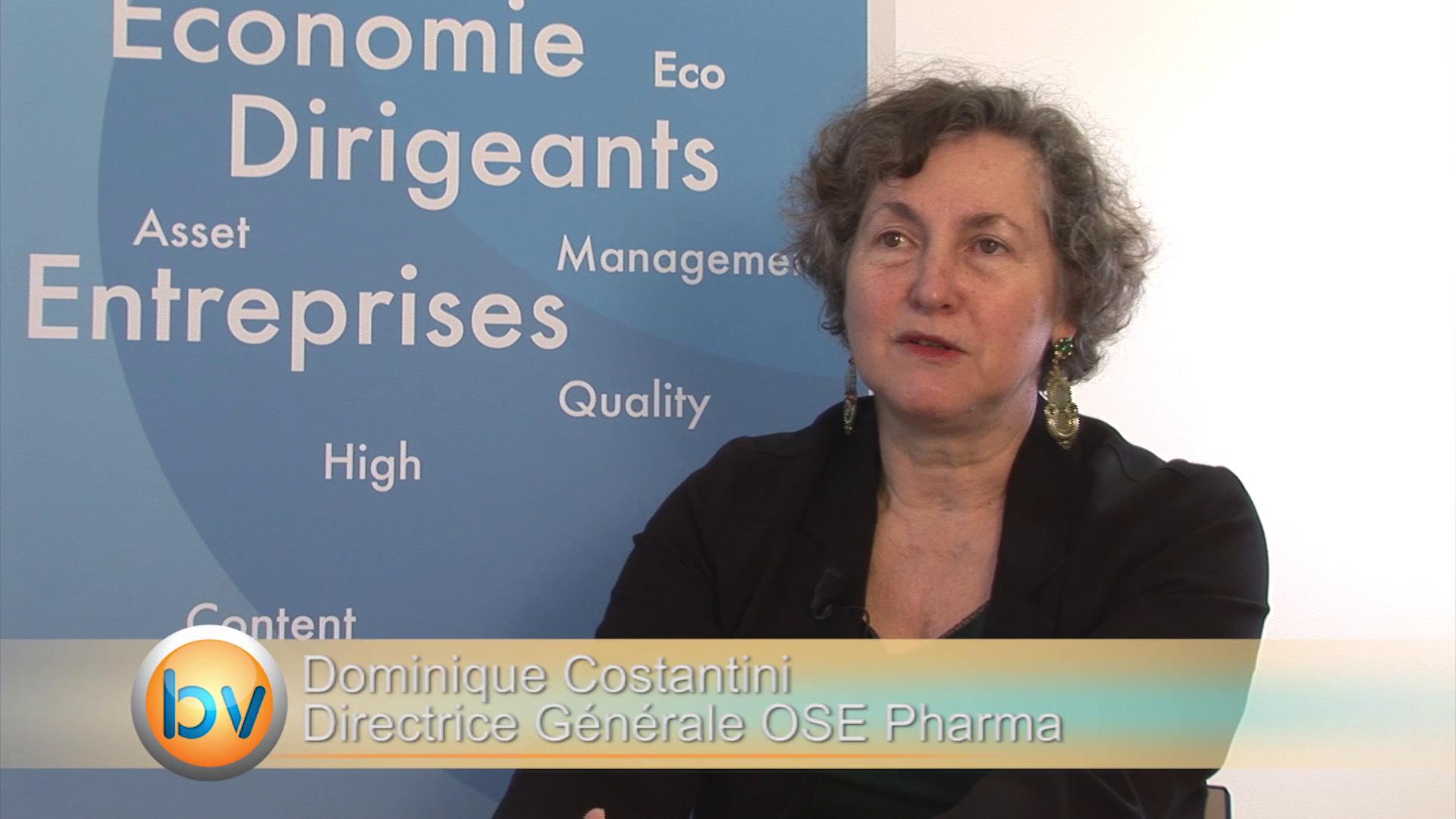 """Dominique Costantini Directrice Générale OSE Pharma : """"Notre produit a montré des résultats sur le cancer du poumon"""""""