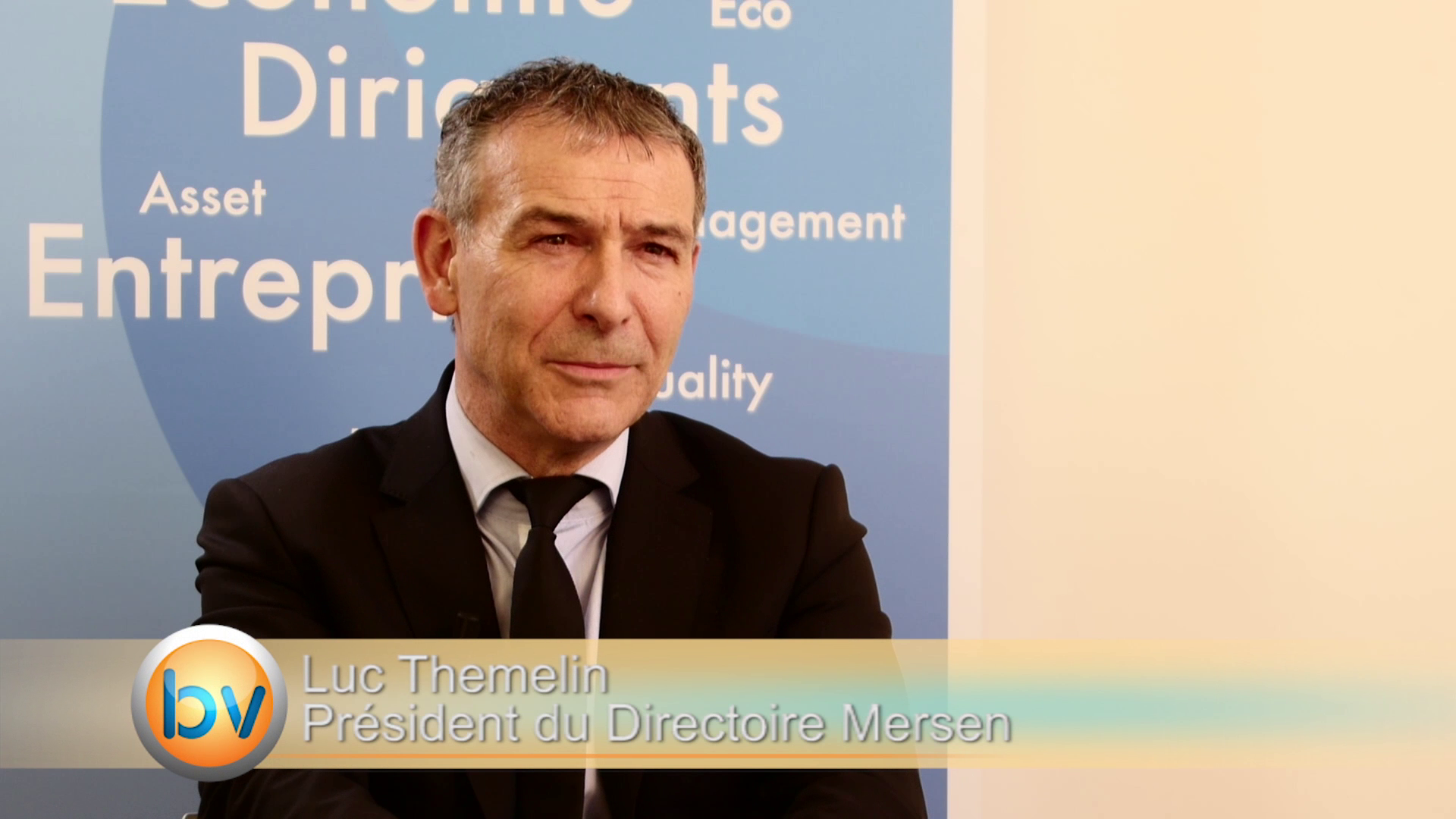 """Luc Themelin Président du Directoire Mersen : """"J'espère que 2015 sera aussi une année de croissance externe"""""""