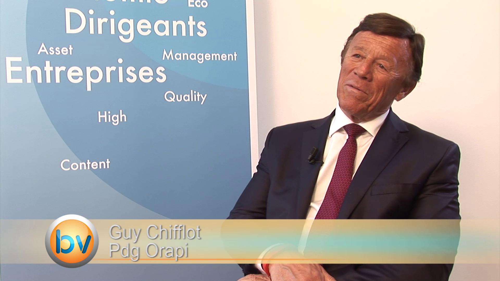 Guy Chifflot Pdg Orapi : «Nous voulons doubler notre chiffre d'affaires à l'international»
