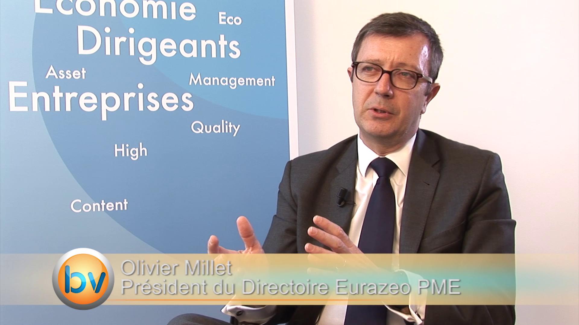 """Olivier Millet Président du Directoire Eurazeo PME : """"La rentabilité c'est le résultat d'un travail dans la durée"""""""