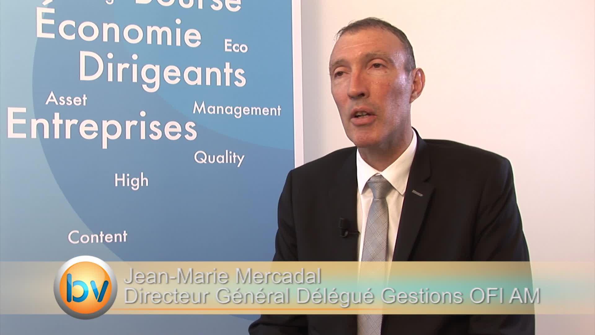 """Jean-Marie Mercadal Directeur Général Délégué OFI AM : """"On est vraisemblablement sur une hausse des taux mais modérée"""""""