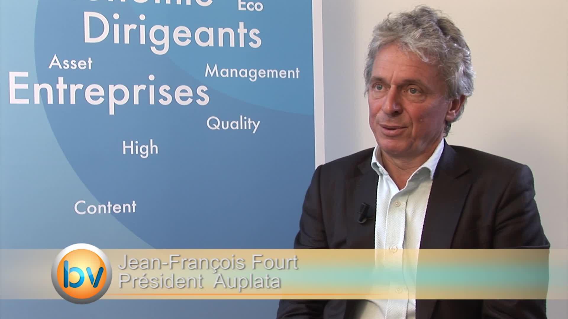 Jean-François Fourt Président Auplata : «On peut parler de baisse des coûts pour Auplata»