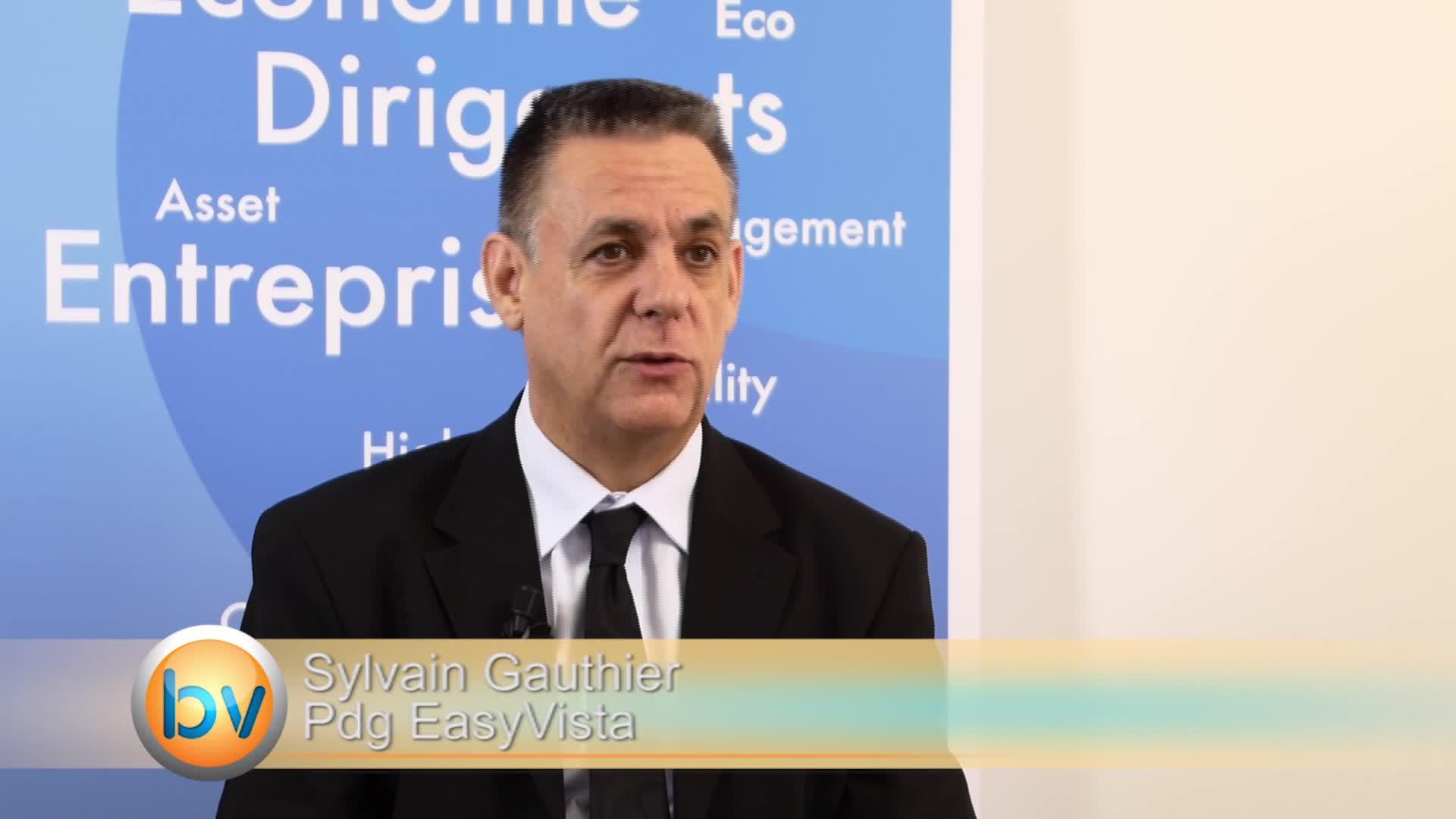 """Sylvain Gauthier Pdg EasyVista : """"Maintenir des taux de croissance de l'ordre de 30% par an"""""""