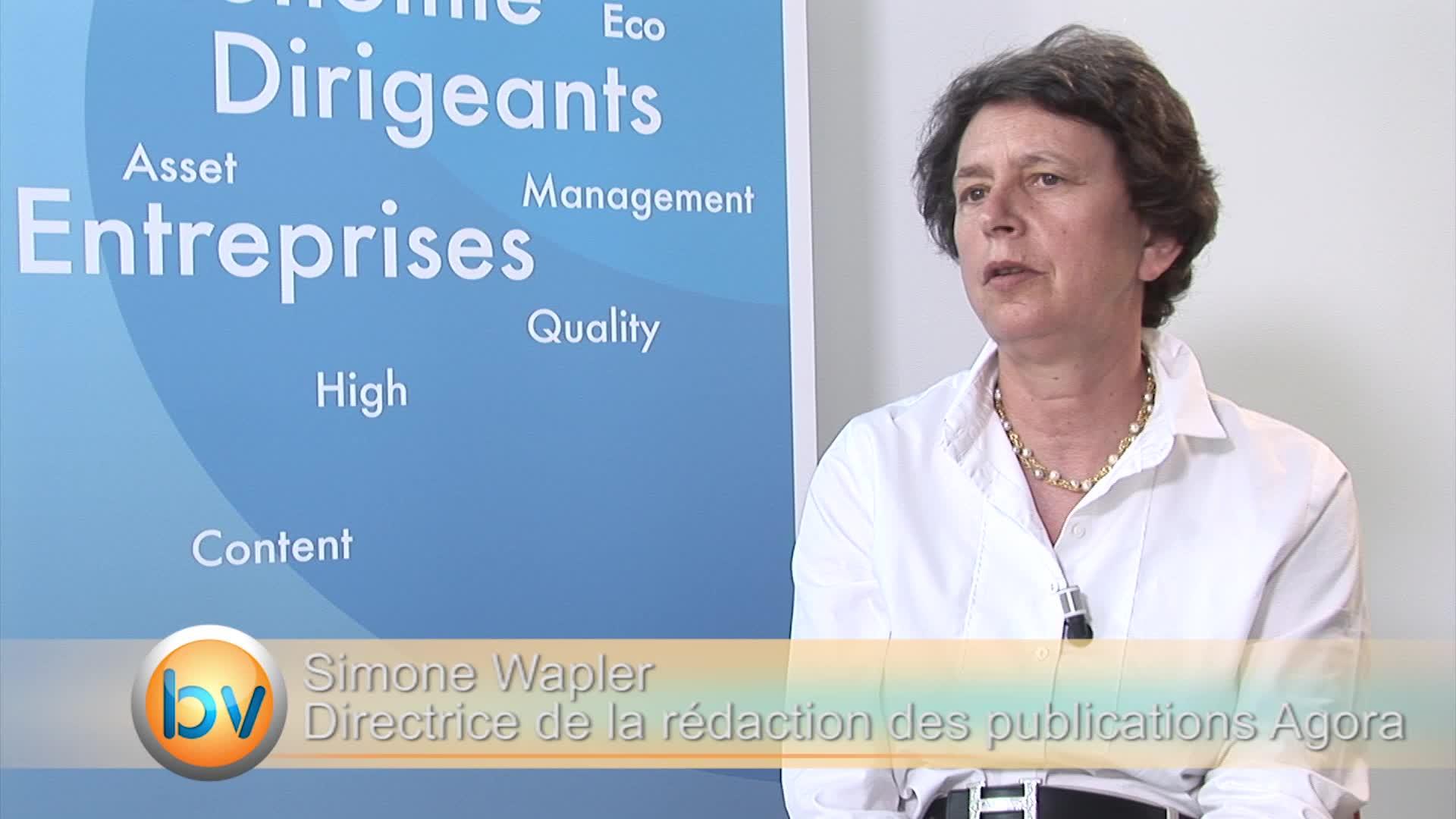 """Simone Wapler Directrice des rédactions Agora : """"On nage dans des aberrations"""""""