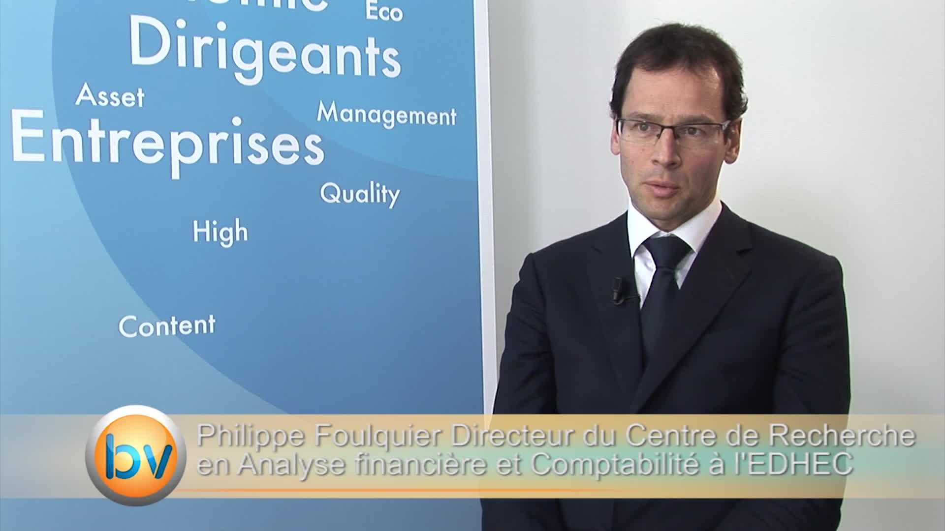 """Philippe Foulquier Directeur Centre de Recherche en Analyse Financière et Comptabilité de l'EDHEC : """"Nouvelle marge de manoeuvre pour les entreprises familiales"""""""