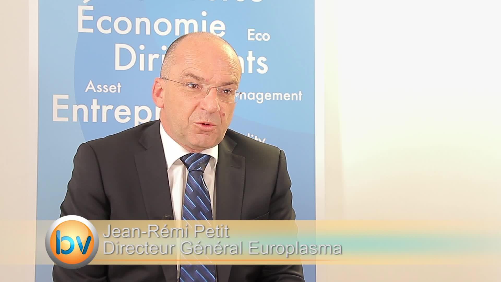 """Jean-Eric Petit Directeur Général Europlasma : """"Aujourd'hui, je suis beaucoup plus serein que je ne l'étais l'année dernière à la même époque"""" : Après une année 2014 consacrée à une importante restructuration financière et opérationnelle"""