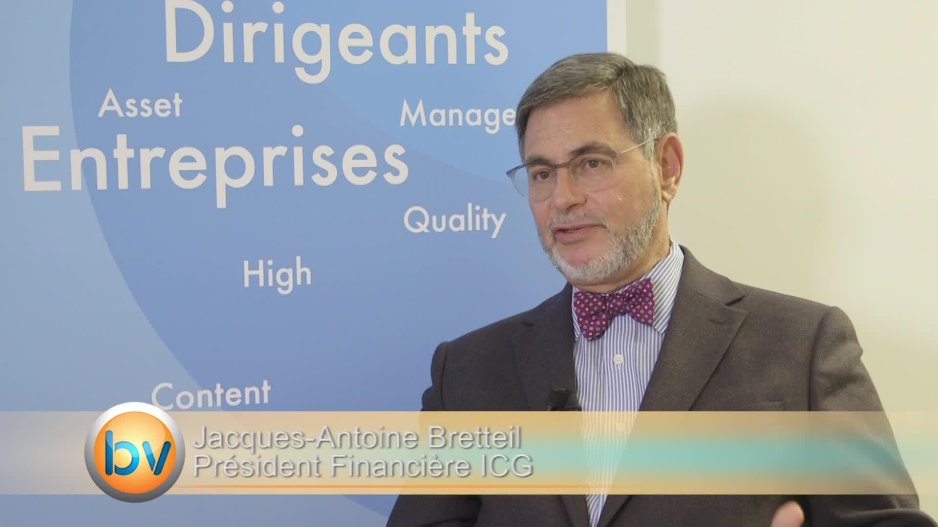 Jacques-Antoine Bretteil Président Financière ICG : «Une distorsion entre la sphère économique et la sphère financière»