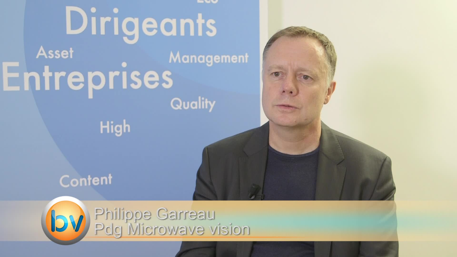 Philippe Garreau Pdg Microwave Vision : «Parmi les les sociétés que l'on vise, il y a des grandes sociétés»