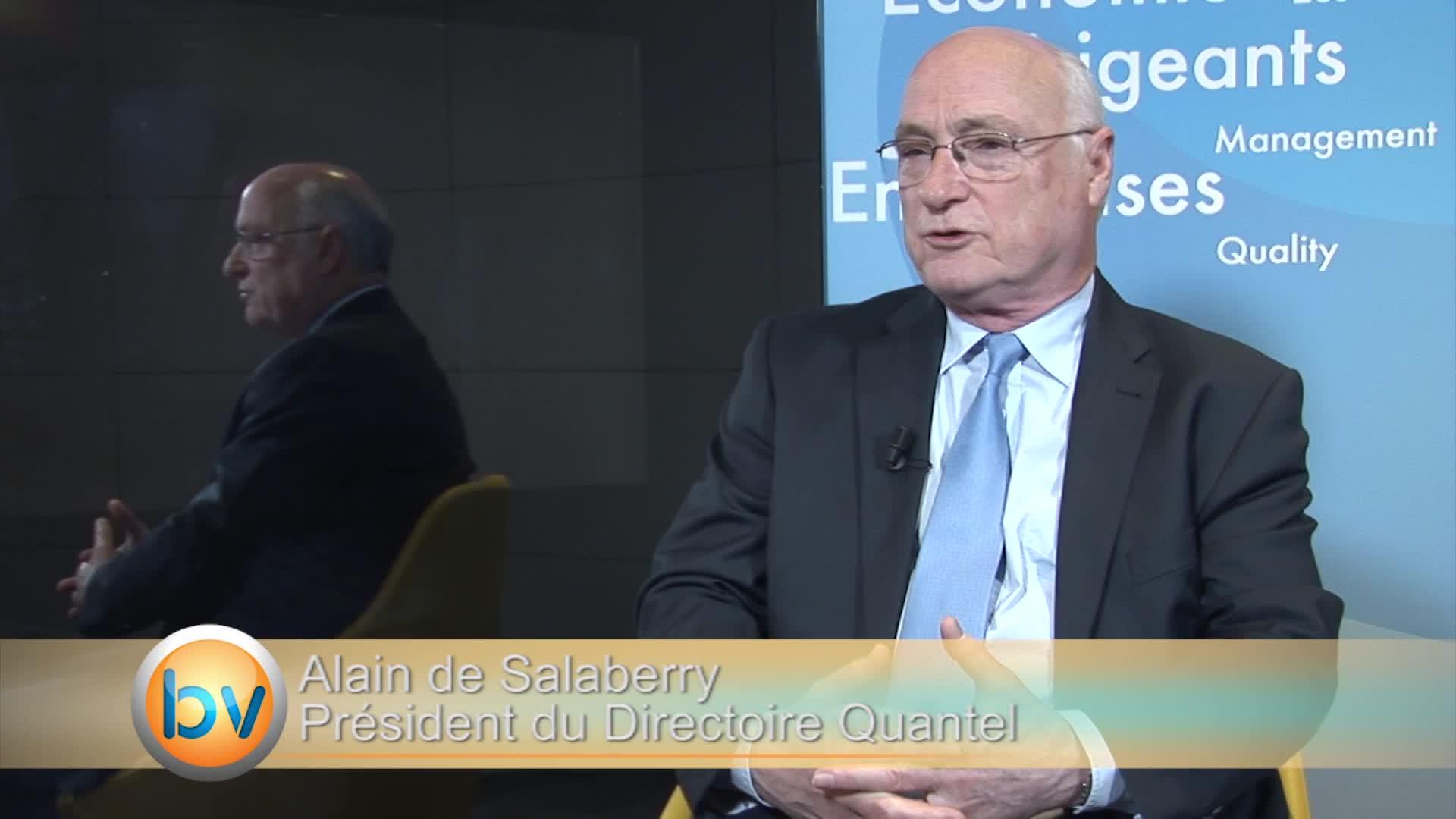 """Alain de Salaberry Président du Directoire Quantel : """"La dette n'est plus un sujet de préoccupation"""""""