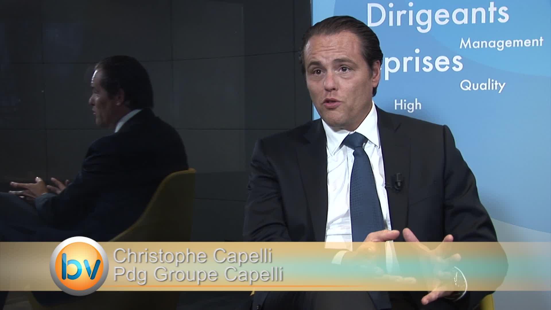 """Christophe Capelli Pdg Groupe Capelli : """"Une croissance qui sera forte en 2015"""""""