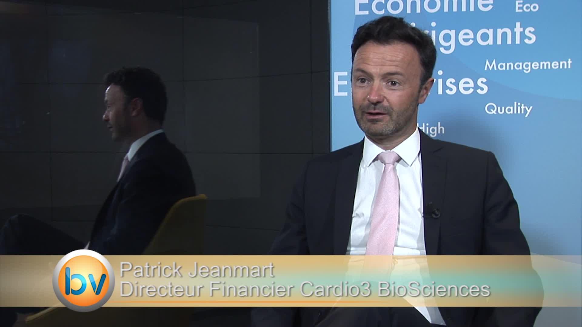 """Patrick Jeanmart Directeur Financier Celyad  (ex Cardio3 BioSciences) : """"On a une assise financière qui est confortable"""""""