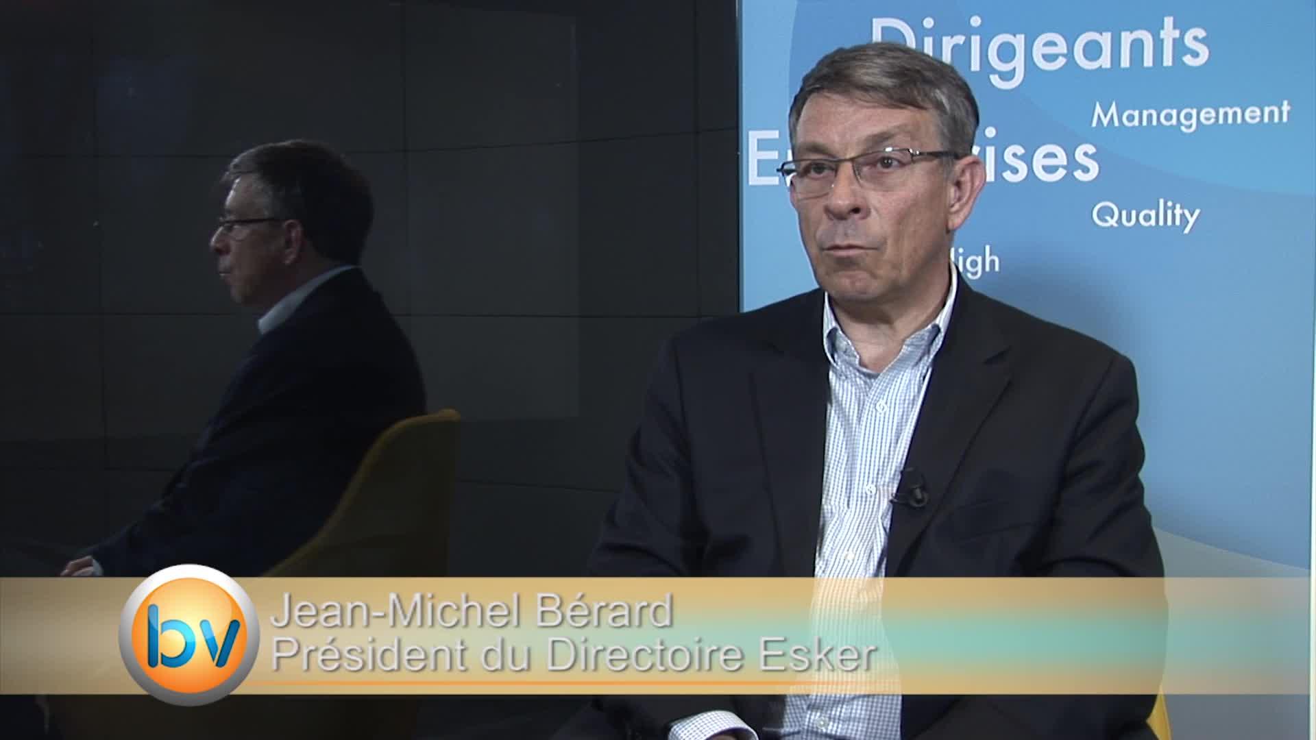 Jean-Michel Bérard Président du Directoire Esker : «Une année de nette croissance en 2015»