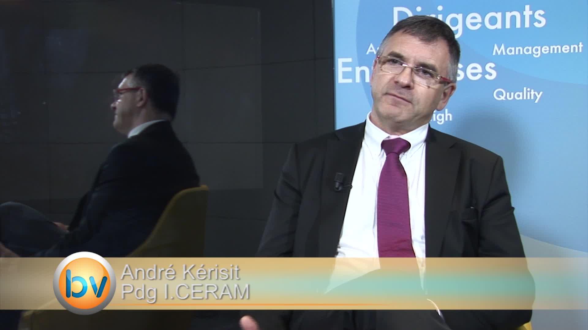 """André Kérisit Pdg I.CERAM : """"Nous sommes dans la phase de développement"""""""