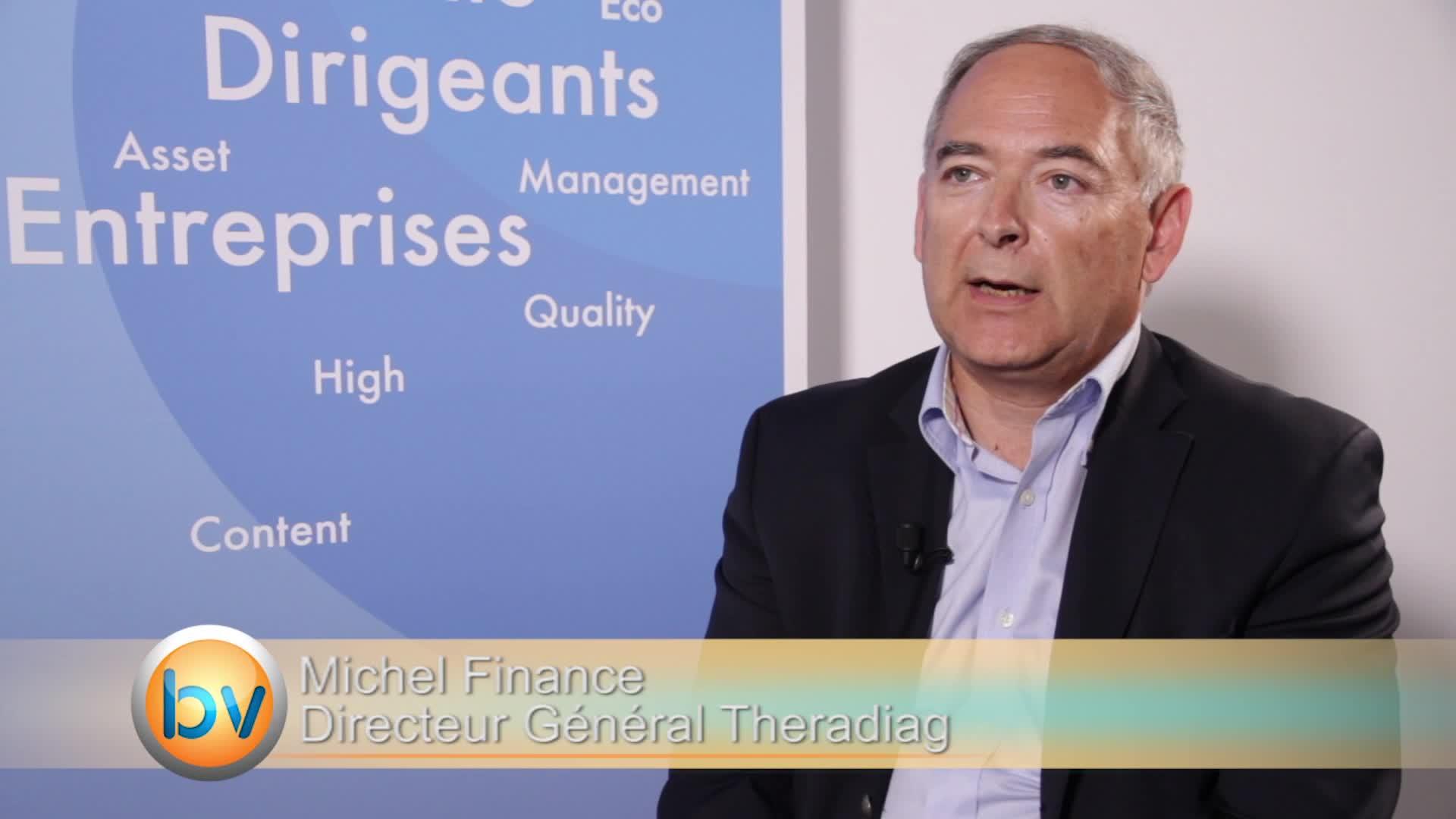"""Michel Finance Directeur Général Theradiag : """"Cela change le futur de Theradiag"""""""