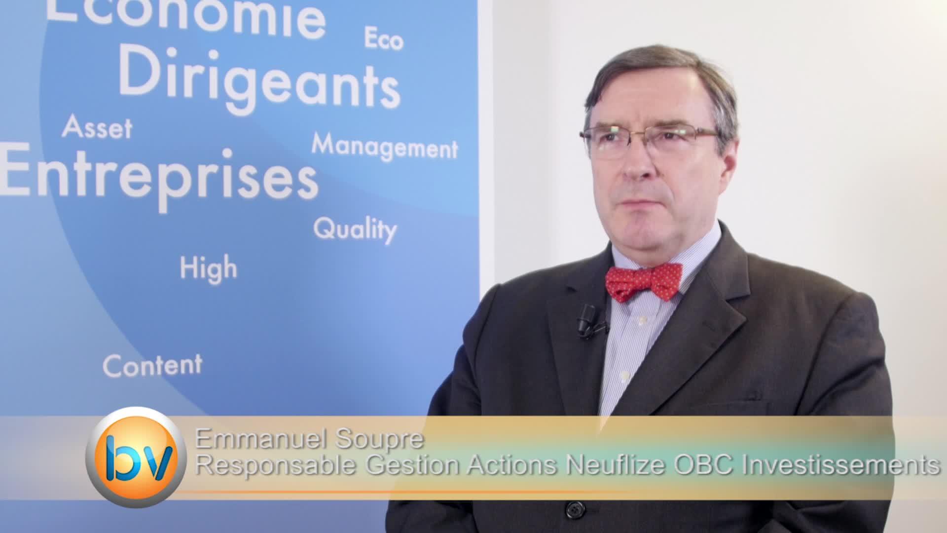 """Emmanuel Soupre Directeur Gestion Actions Neuflize OBC Investissements : """"Un rééquilibrage favorable aux valeurs moyennes"""""""