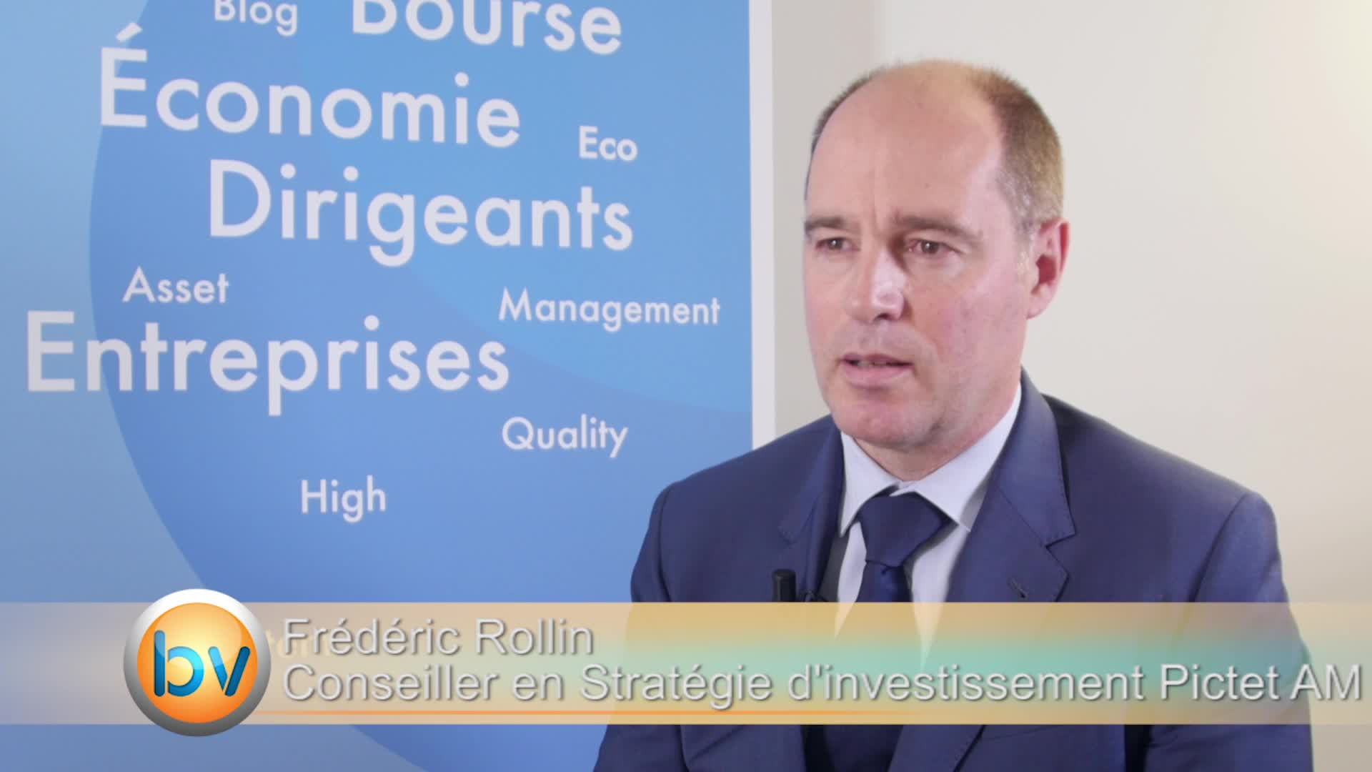 """Frédéric Rollin Conseiller en Stratégie d'investissement Pictet AM : """"On voit plutôt une hausse des taux en septembre aux Etats-Unis"""""""