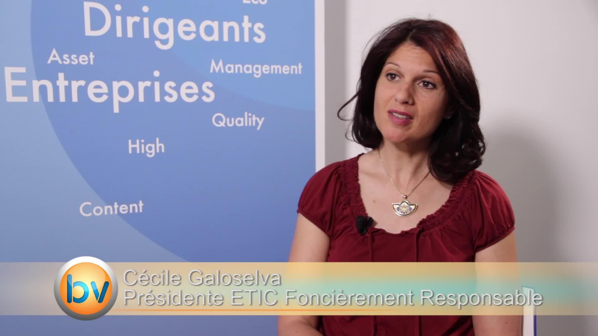 """Cécile Galoselva Présidente ETIC Foncièrement Responsable : """"On sait comment développer les projets de manière efficace"""""""