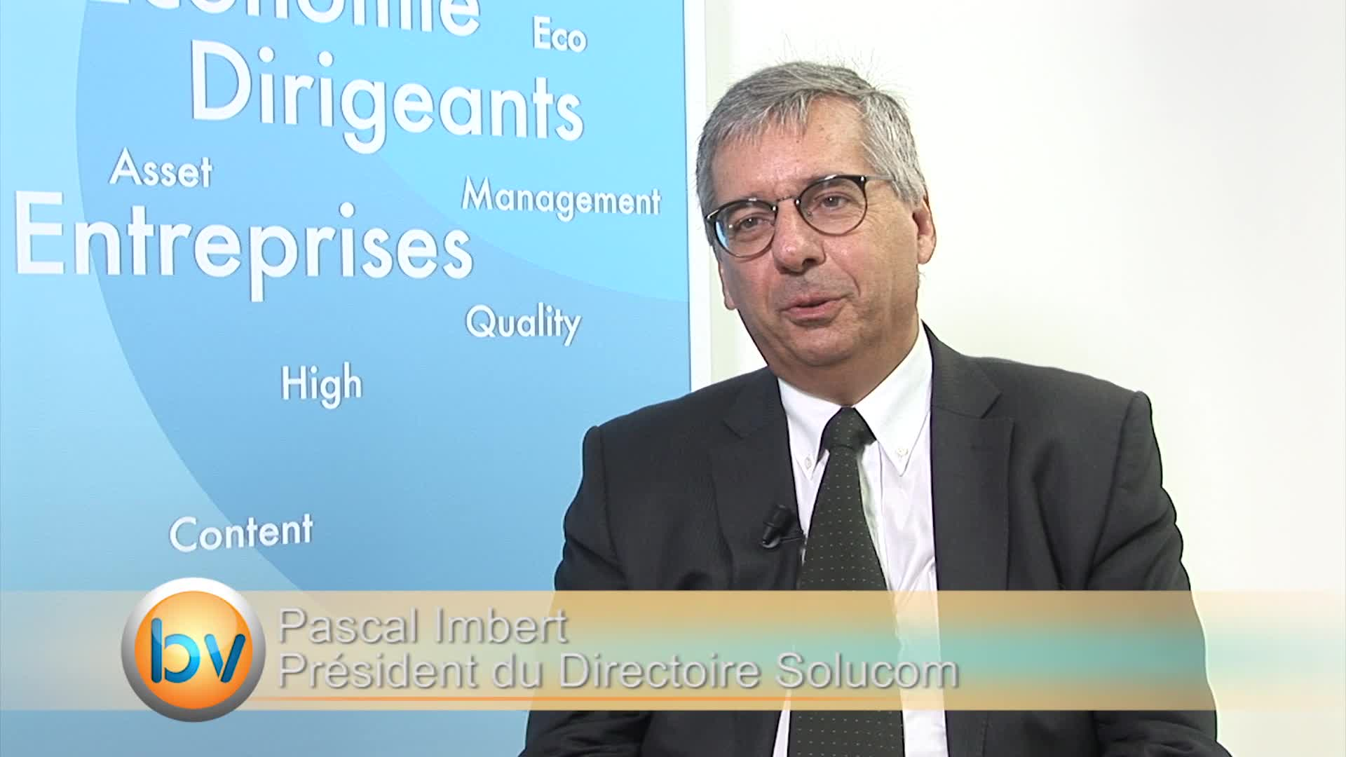 """Pascal Imbert Président du Directoire Solucom : """"Nous voulons avoir plus de 20% de notre activité à l'international"""""""