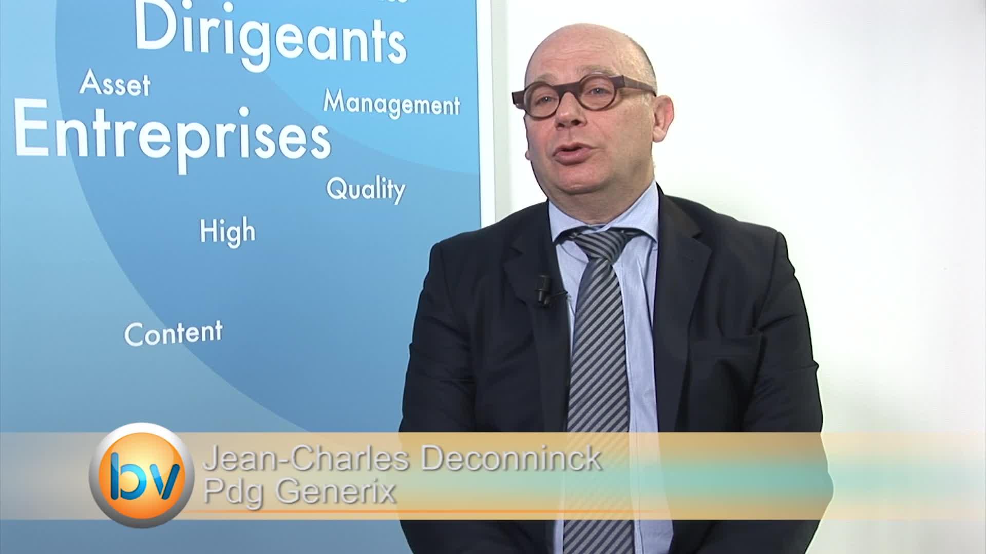"""Jean-Charles Deconninck Pdg Generix : """"Nous avons fait le choix d'une croissance raisonnée mais rentable"""""""