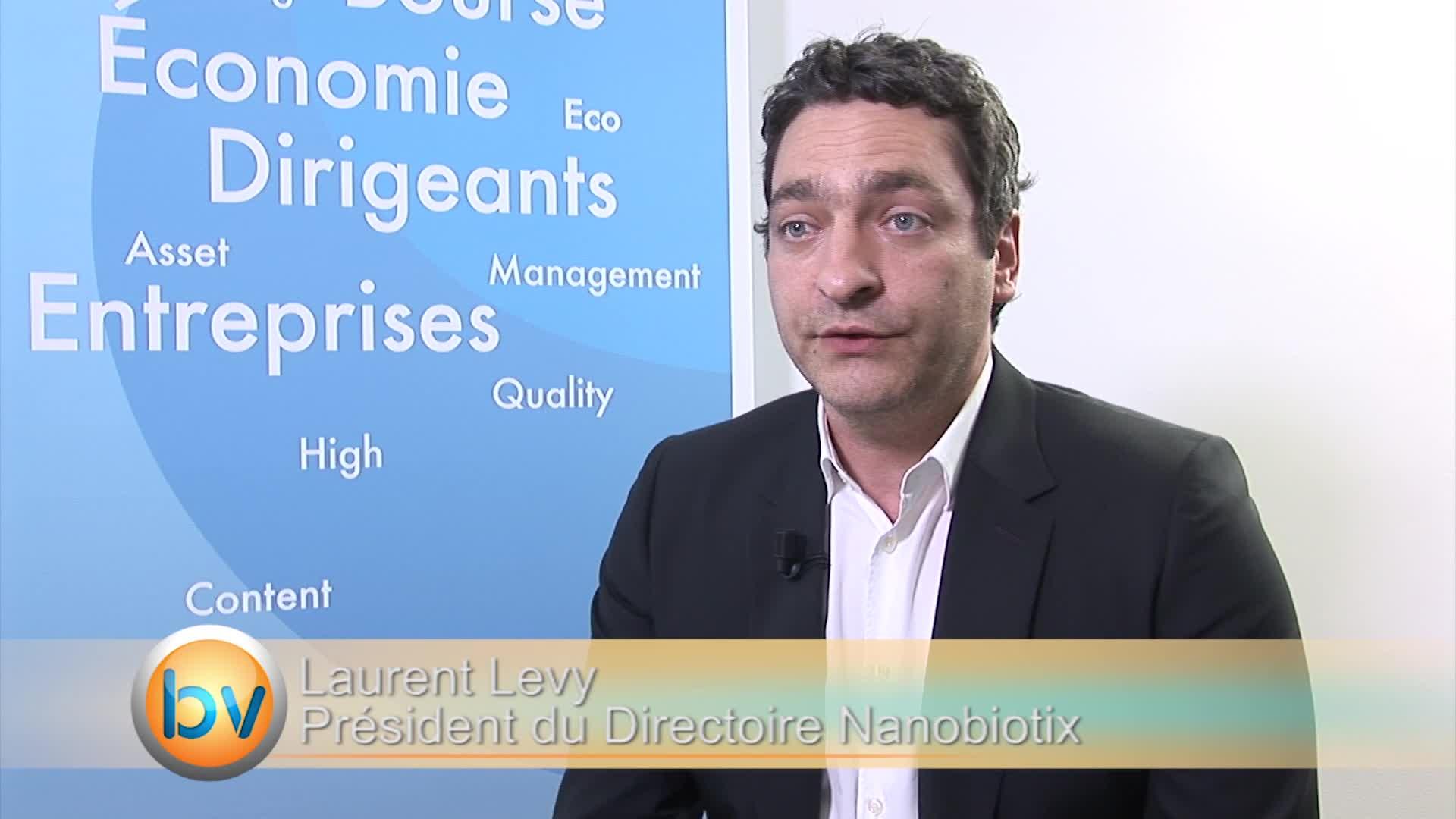 """Laurent Levy Président du Directoire Nanobiotix : """"Nous pouvons étendre potentiellement l'utilisation de ce produit"""""""