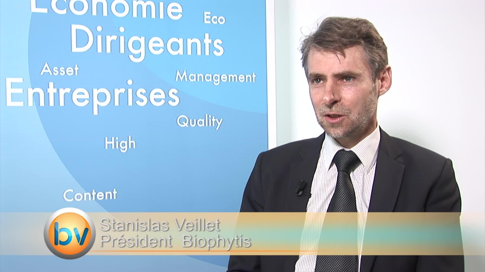 """Stanislas Veillet Président Biophytis : """"Nous sommes les premiers à tester ses produits"""""""
