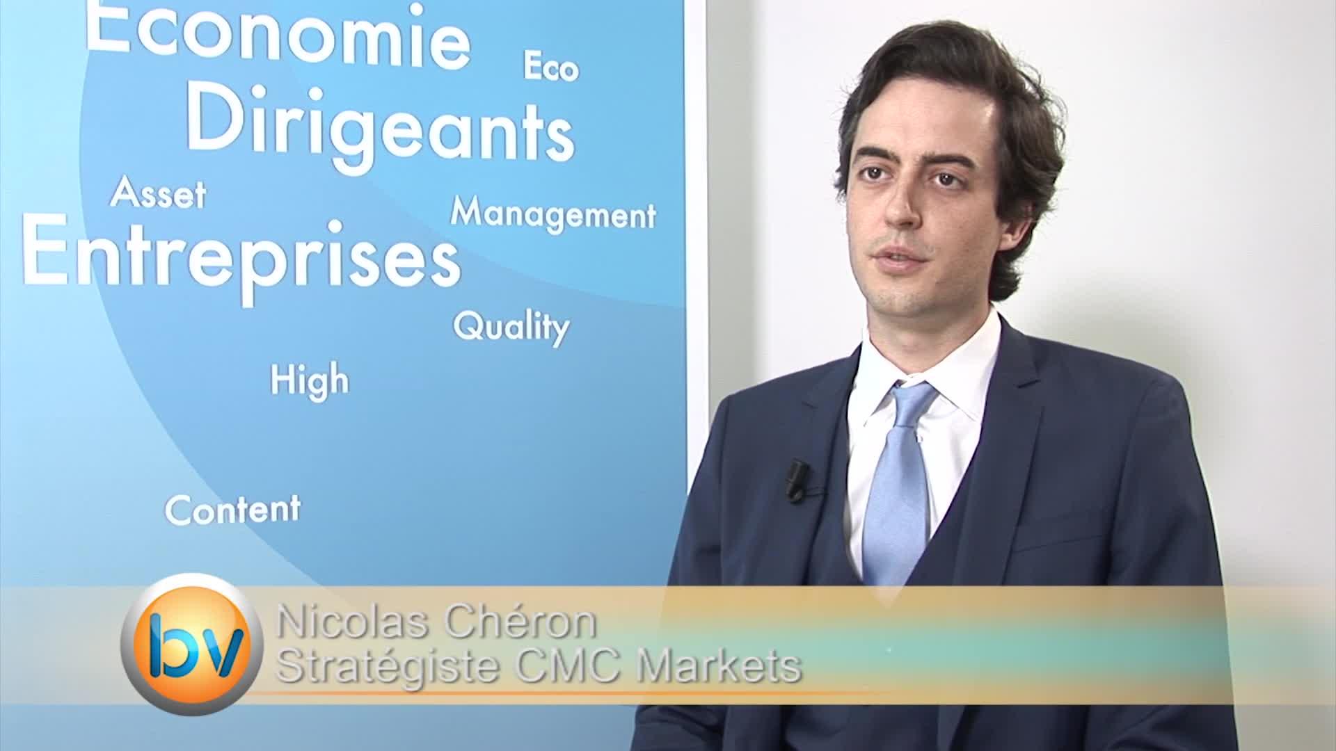 """Nicolas Chéron Stratégiste CMC Markets : """"L'or n'est absolument pas refuge en ce moment"""""""