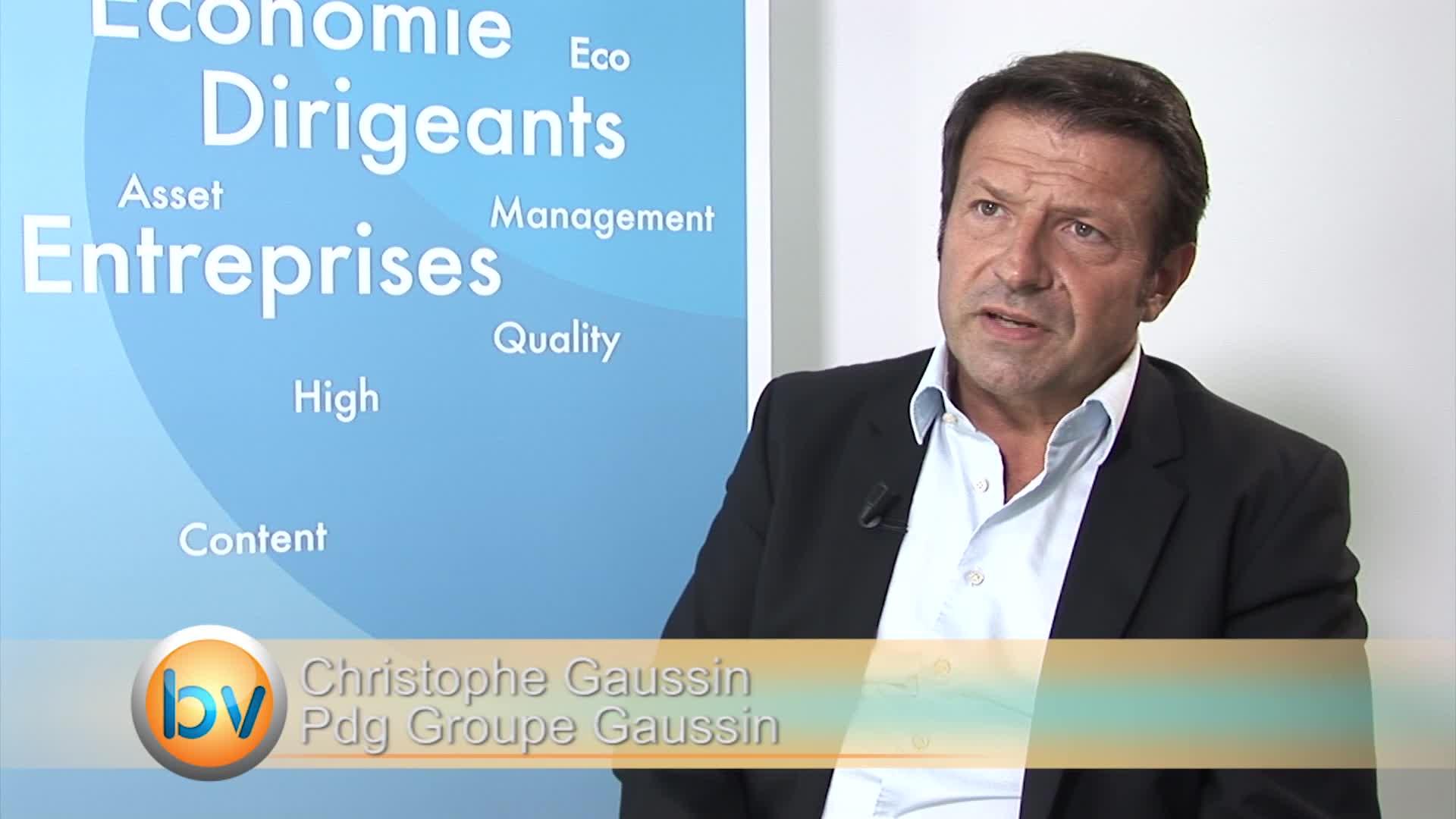"""Christophe Gaussin Pdg Groupe Gaussin : """"On a trouvé intéressant de pouvoir capter des marchés futurs avec une licence"""""""
