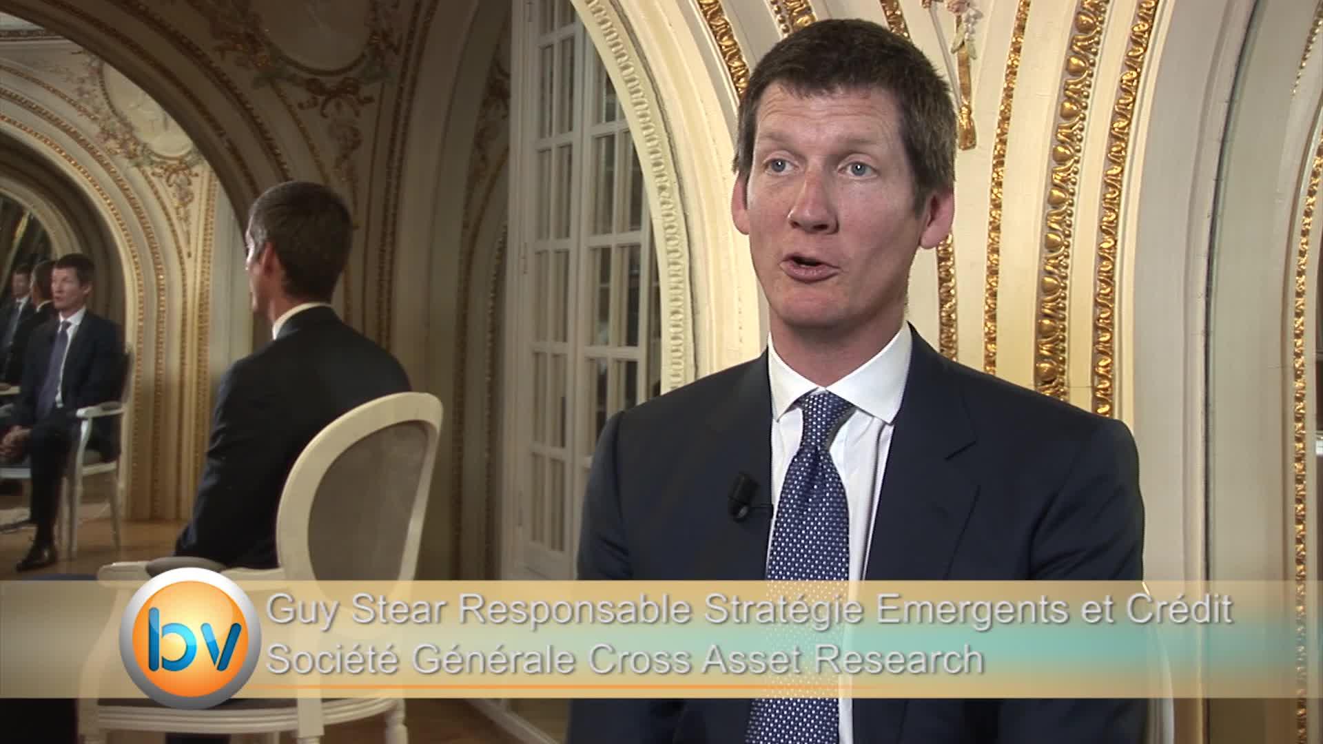 Guy Stear Responsable Stratégie Émergents et Crédit Société Générale Cross Asset Research : «La question, c'est pas la Grèce en soi, c'est qui peut être le prochain ?»