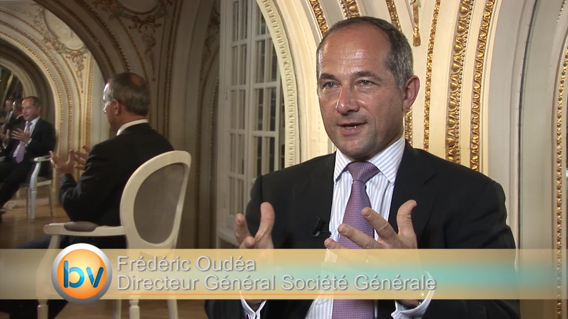 """Frédéric Oudéa Directeur Général Société Générale : """"Le défi de toutes les banques c'est l'adaptation au numérique"""""""