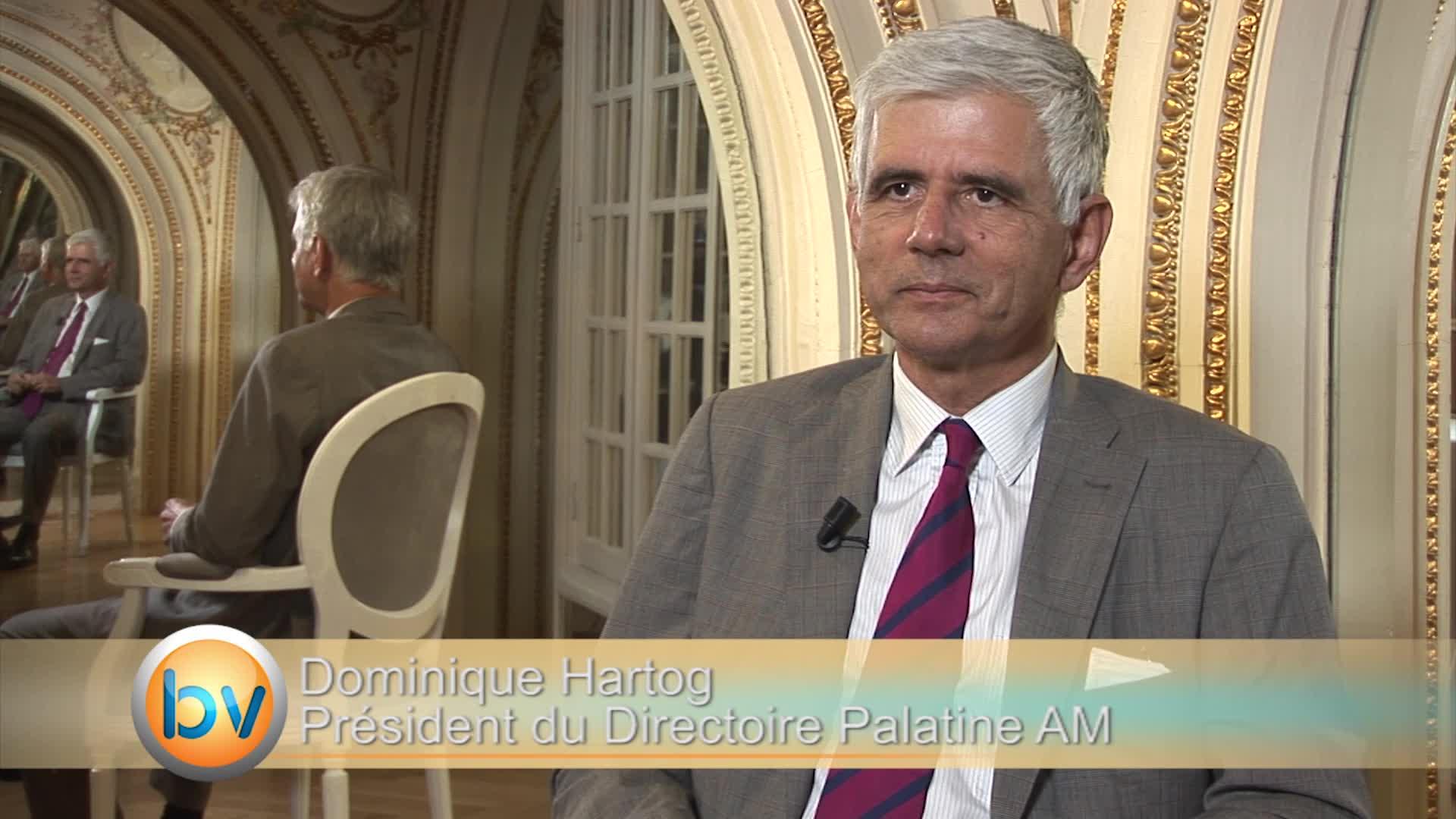"""Dominique Hartog Président du Directoire Palatine AM : """"Beaucoup d'éléments favorables pour la zone euro"""""""