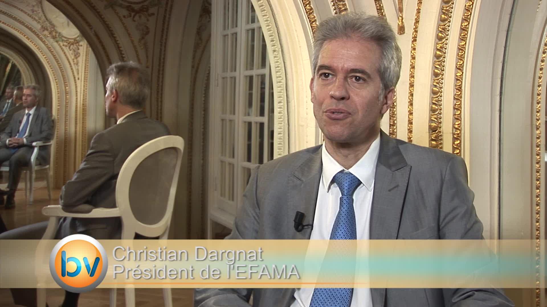 """Christian Dargnat Président de l'EFAMA : """"L'Asset Management en Europe va bien"""""""