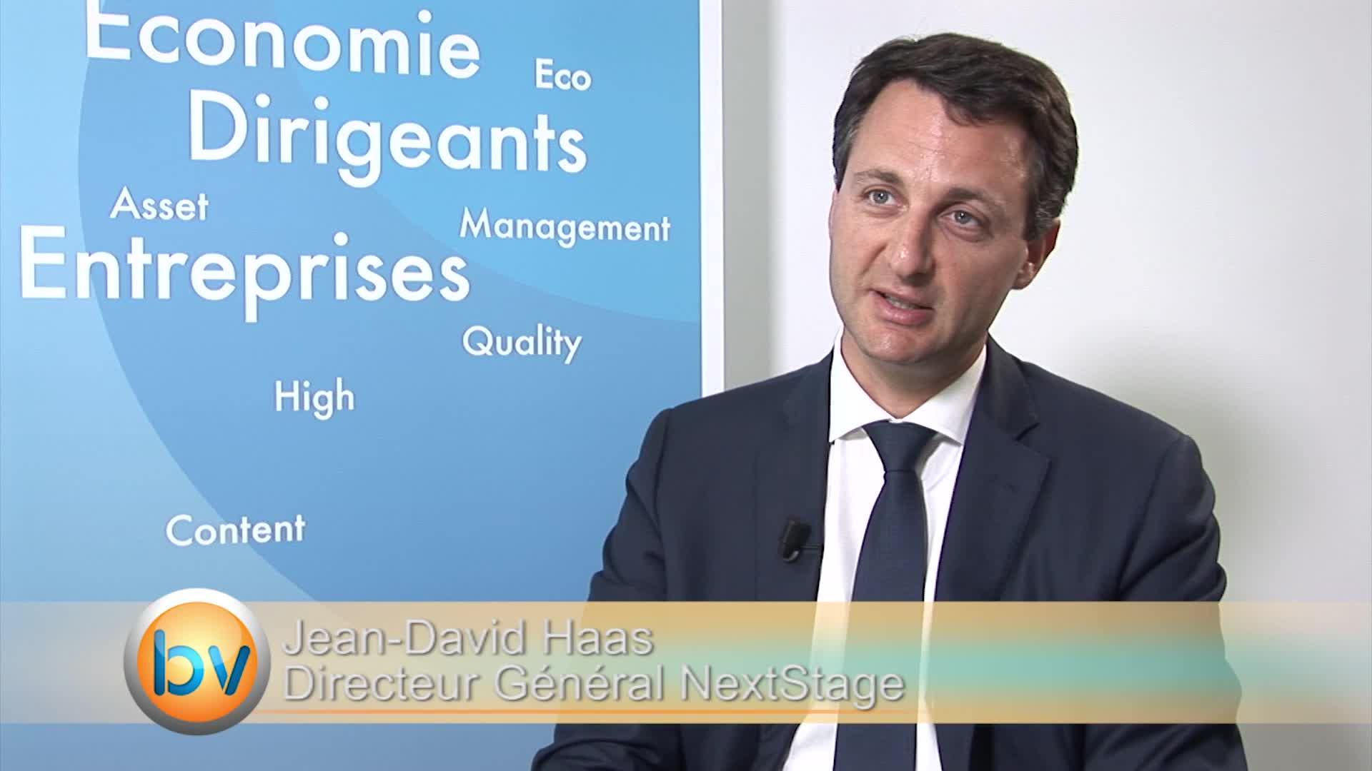 """Jean-David Haas Directeur Général NextStage : """"Très forte corrélation entre innovation et international pour les entreprises"""""""