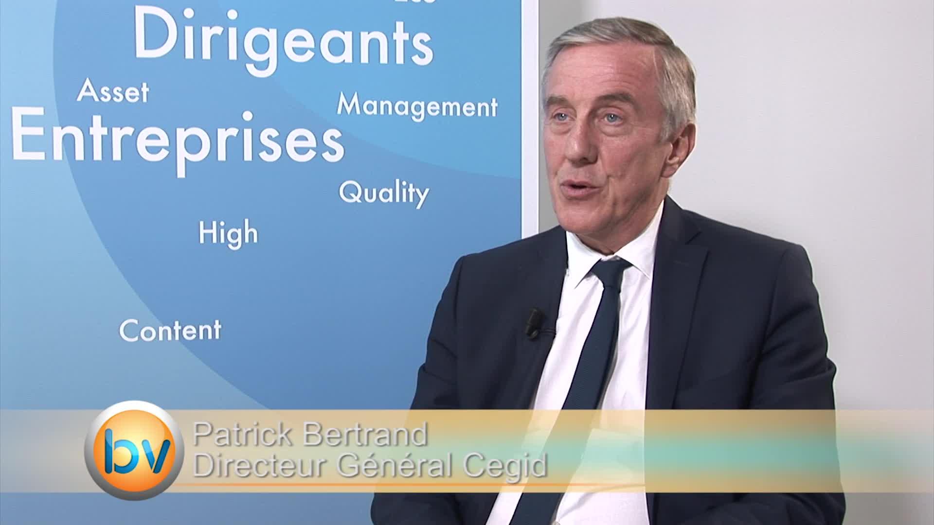 """Patrick Bertrand Directeur Général de Cegid : """"L'objectif est maintenant d'arriver à un chiffre d'affaires récurrent de 70%"""""""