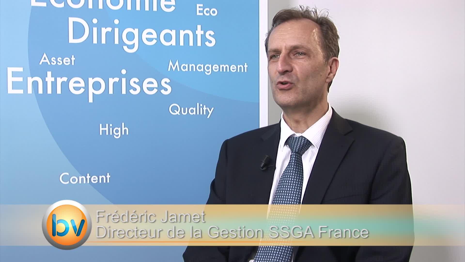 """Frédéric Jamet Directeur de la Gestion SSGA France : """"Il n'y a plus vraiment d'alternative"""""""