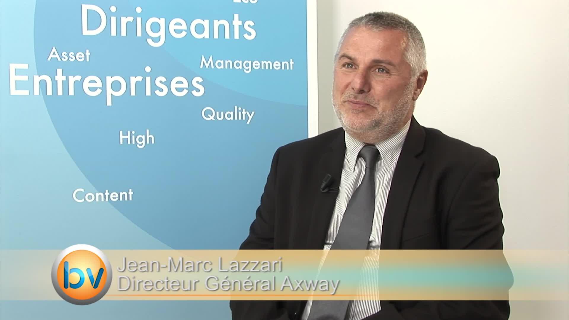 """Jean-Marc Lazzari Directeur Général Axway : """"La transformation est en cours"""""""