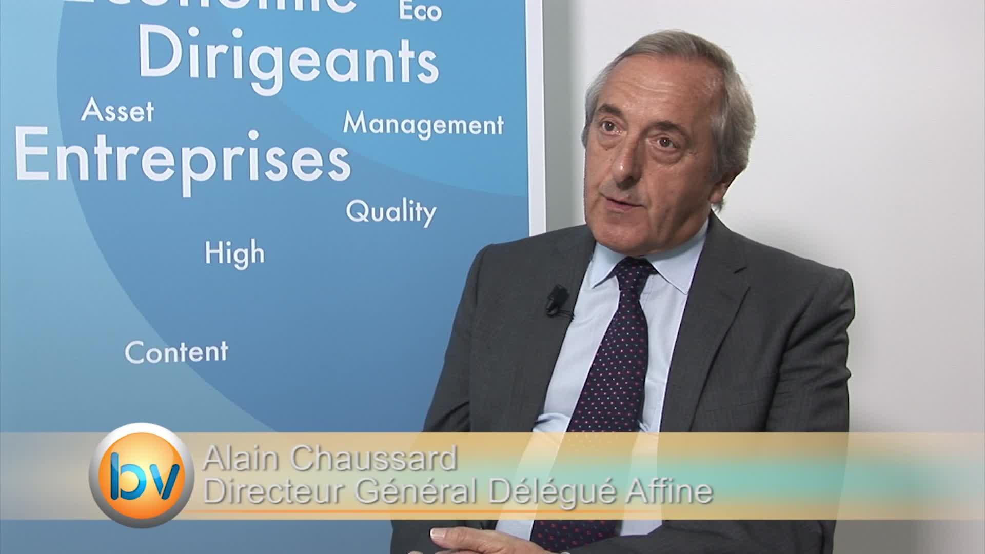 """Alain Chaussard Directeur Général Affine : """"Aucun risque sur la distribution de dividende"""""""