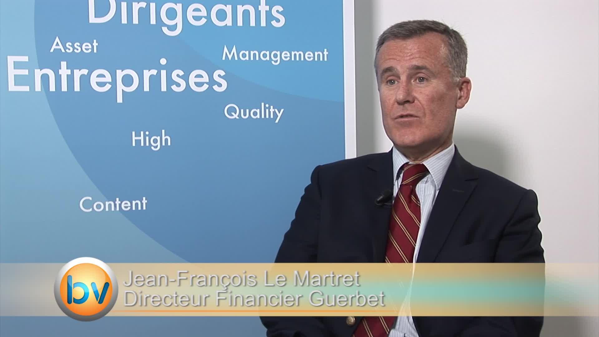 """Jean-François Le Martret Directeur Financier Guerbet : """"C'est une page d'histoire qui se tourne pour Guerbet"""""""