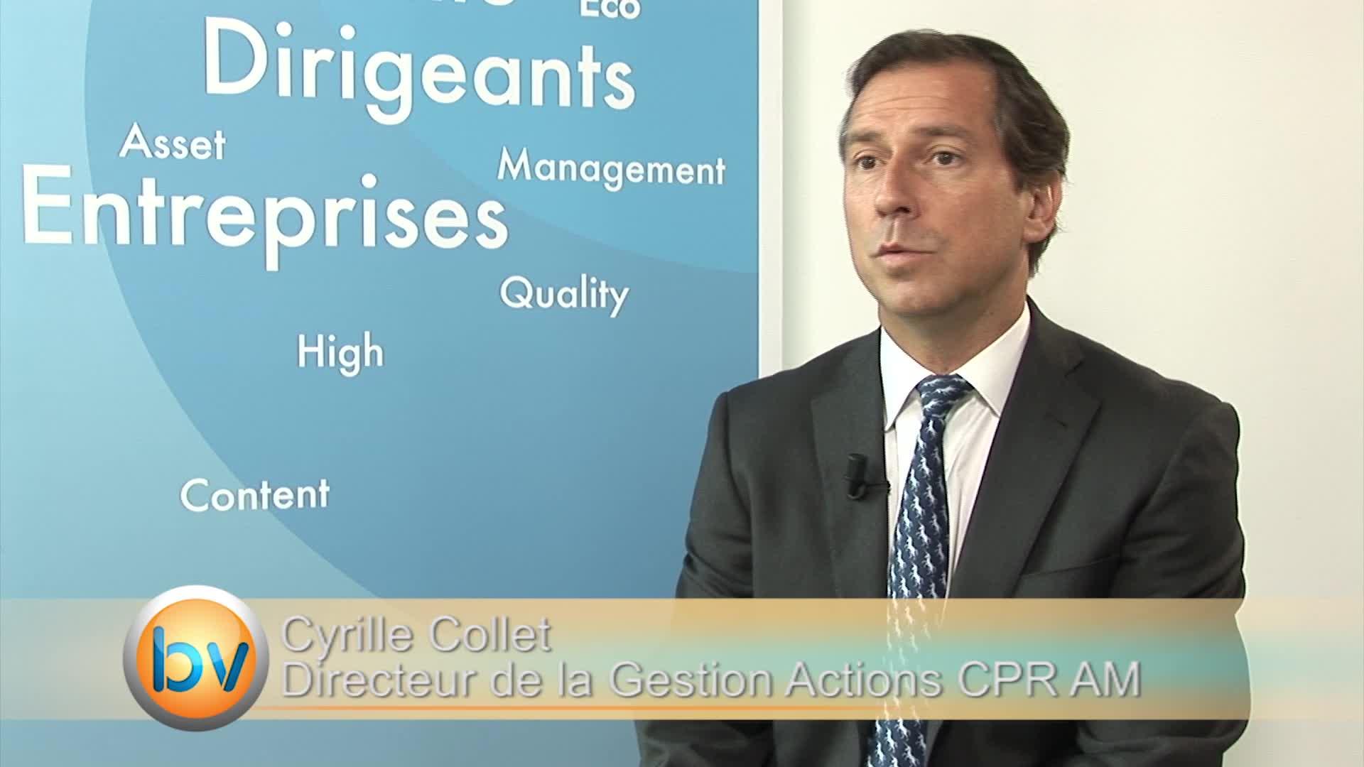 """Cyrille Collet Directeur de la Gestion Actions CPR AM : """"Il faut attendre la FED"""""""