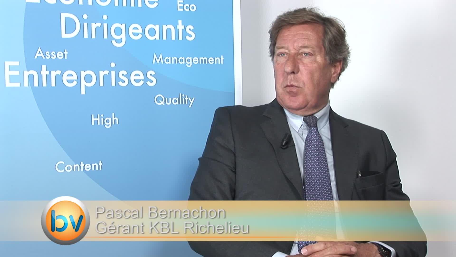 """Pascal Bernachon Gérant KBL Richelieu : """"Encore de la volatilité et des perturbations devant nous"""""""