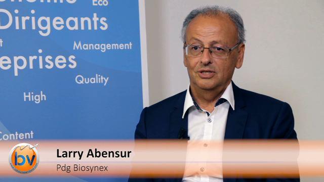 """Larry Abensur Pdg Biosynex : """"Nous voulons être un acteur mondial dans ce domaine"""""""