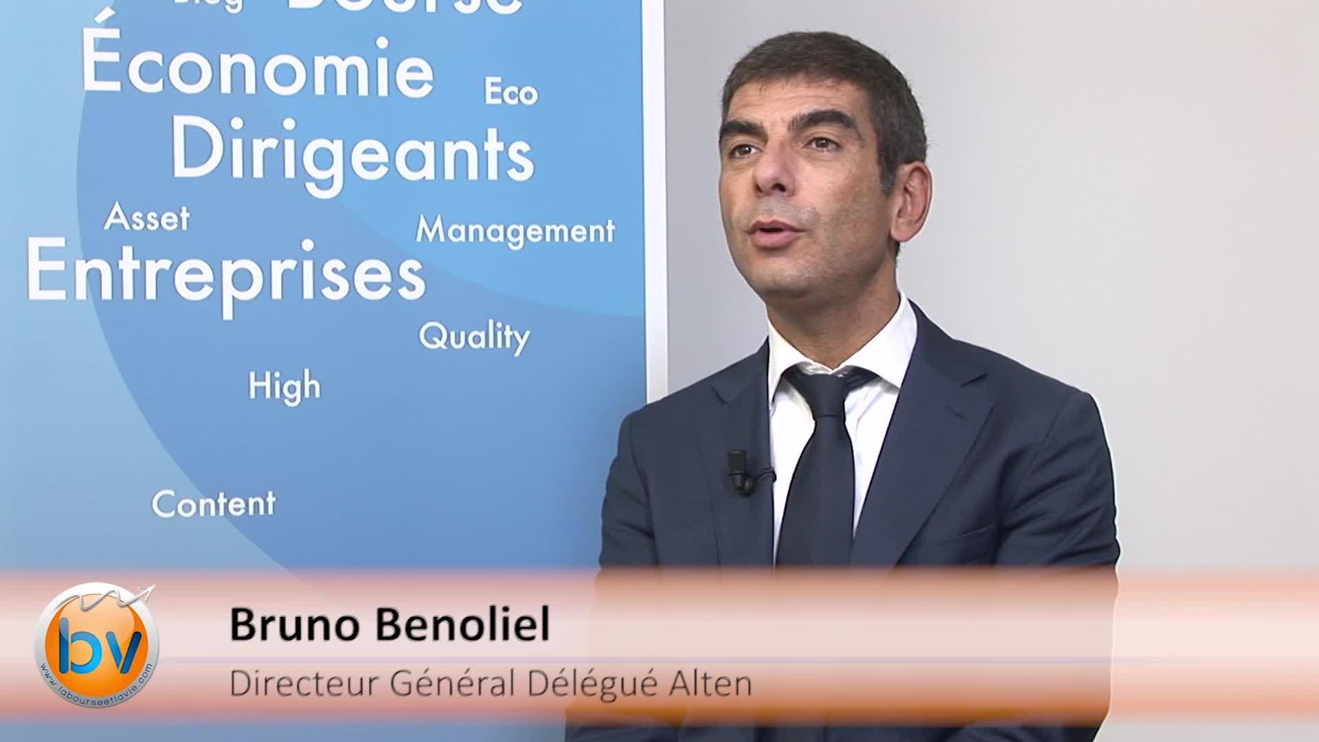 Bruno Benoliel Directeur Général Délégué Alten : «Nous souhaitons avoir la taille critique sur les marchés importants»
