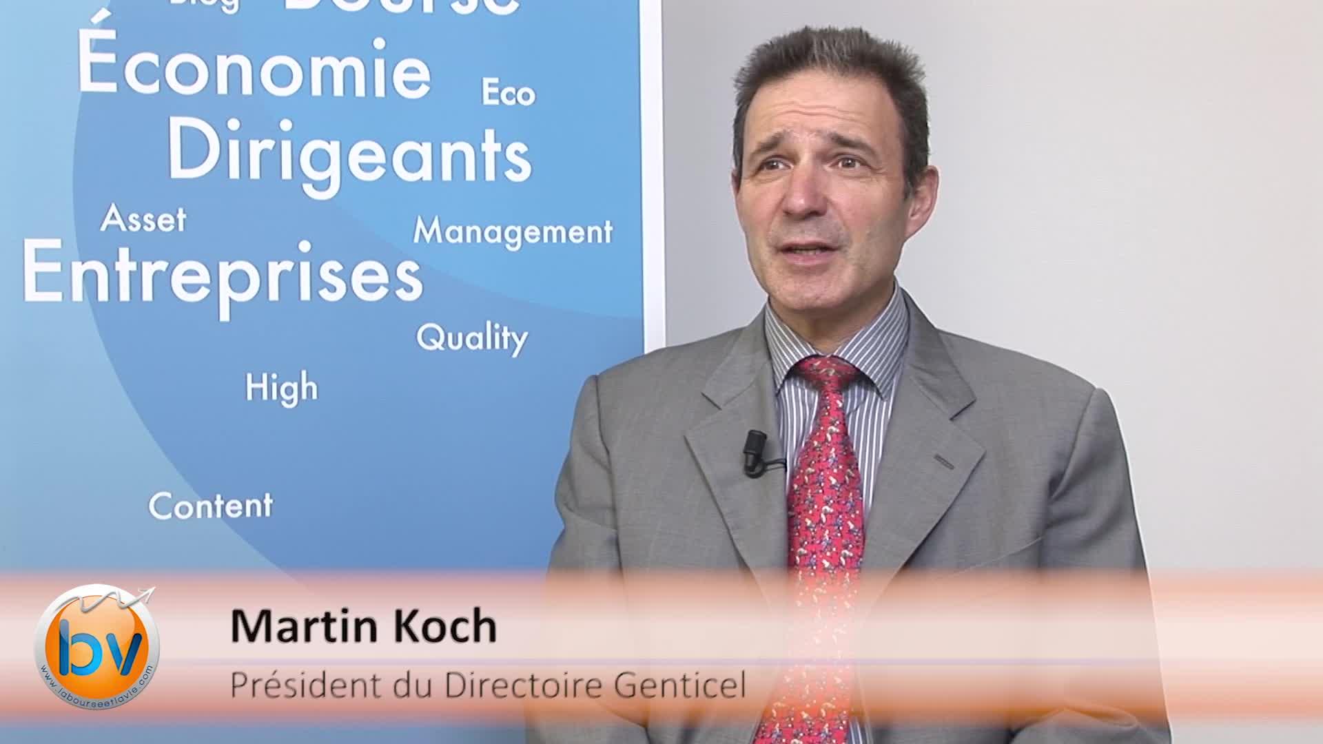 """Martin Koch Président du Directoire Genticel : """"Nous sommes sereins pour financer l'ensemble du plan présenté à l'IPO"""""""