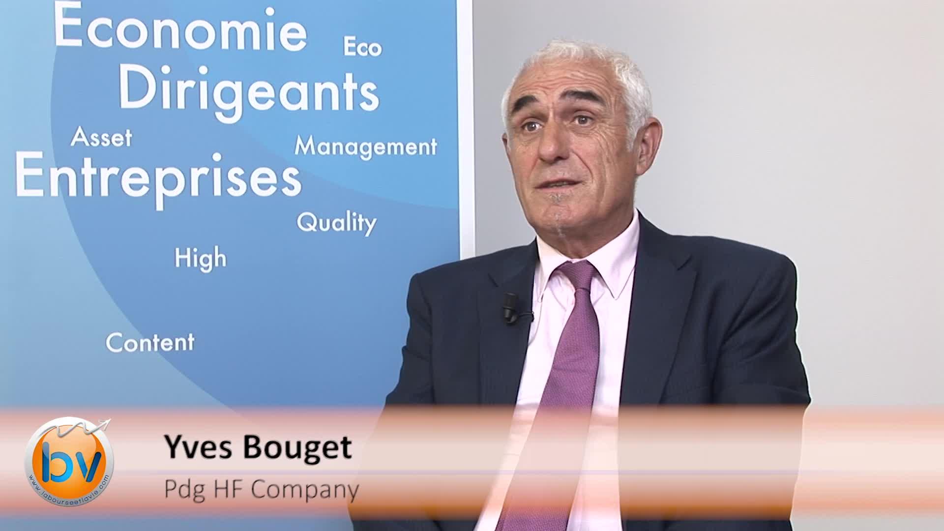 """Yves Bouget Pdg HF Company : """"Des briques technologiques peuvent nous intéresser sur le marché américain"""""""
