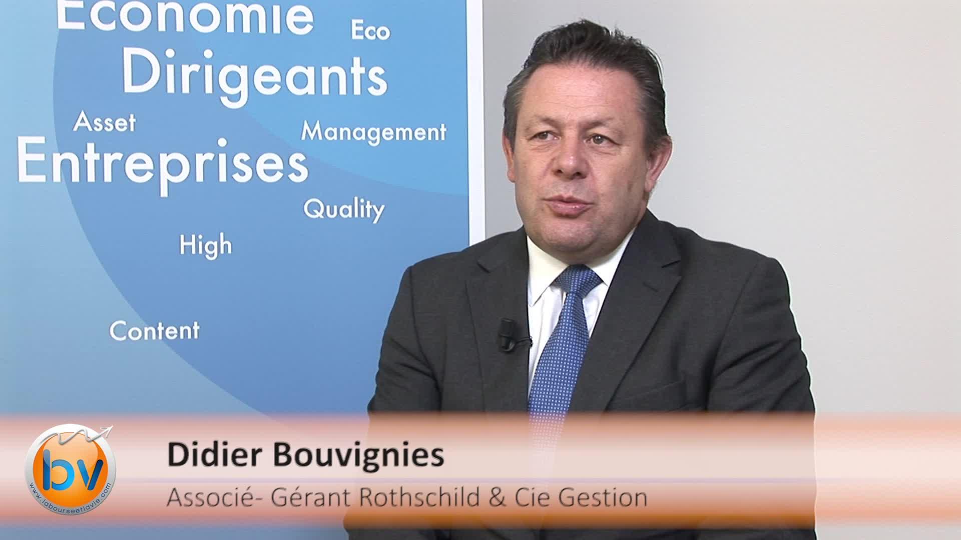 """Didier Bouvignies Associé-Gérant Rothschild et Cie Gestion : """"La capacité de rebond est toujours là en zone euro"""""""