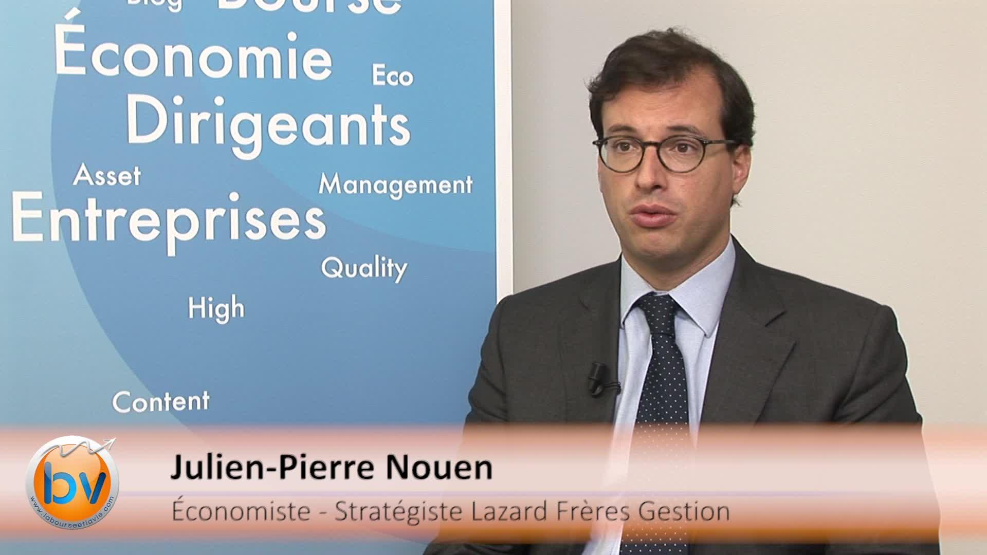 Julien-Pierre Nouen Economiste – Stratégiste Lazard Frères Gestion : «Les actions de la zone euro restent un actif de choix»