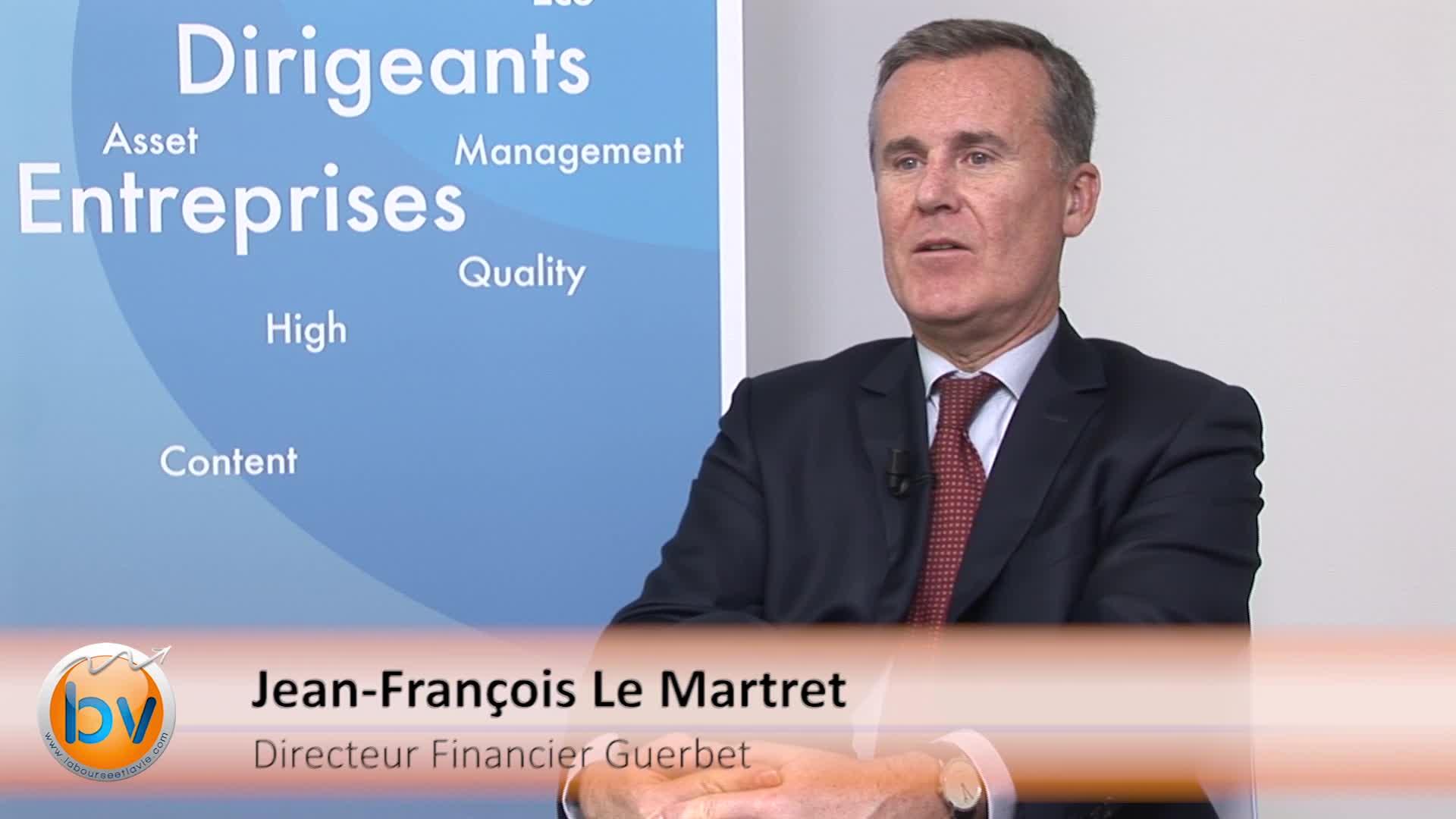 """Jean-François Le Martret Directeur Financier Guerbet : """"L'année 2016 sera une année de relance de CMDS"""""""