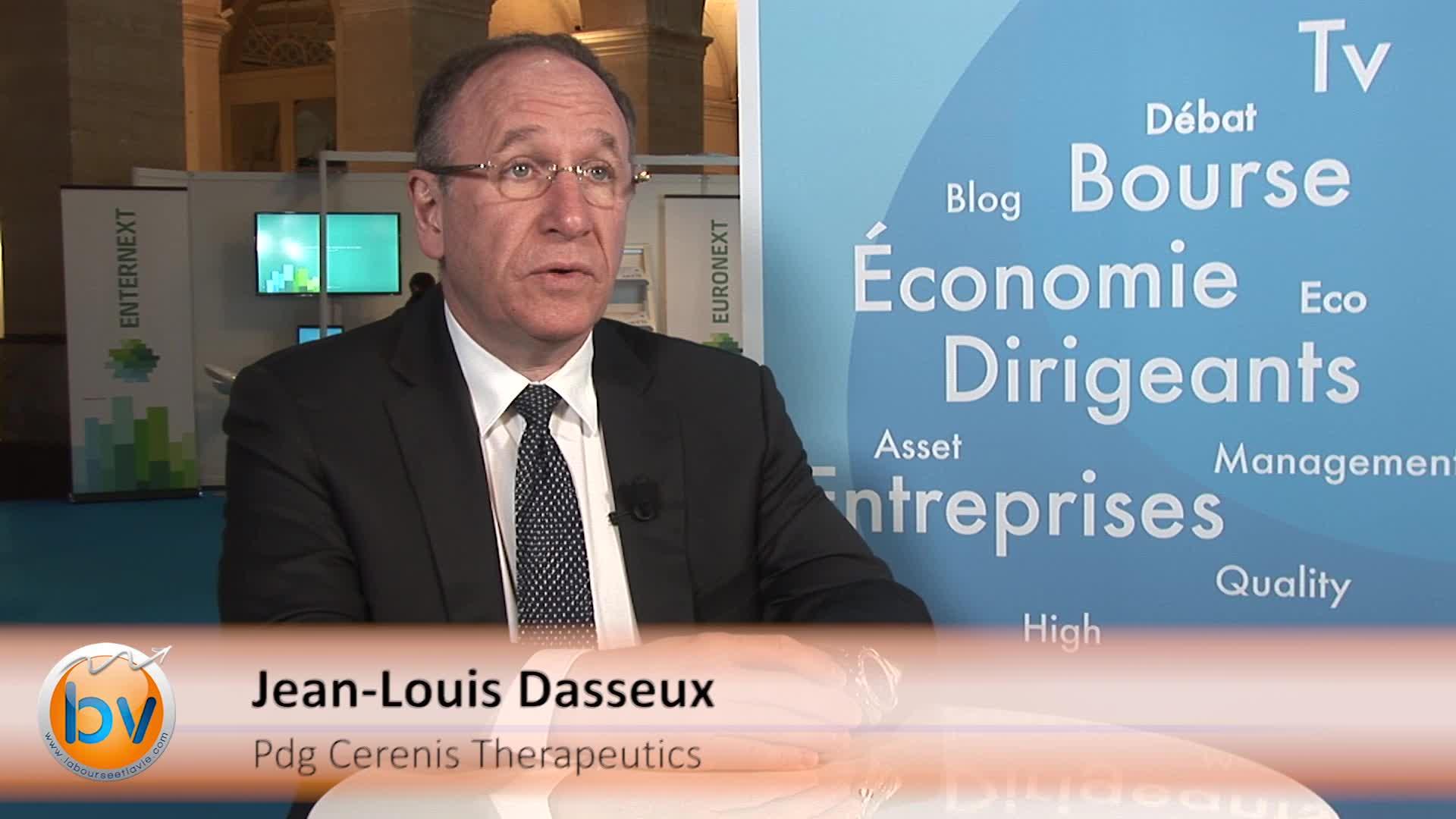 """Jean-Louis Dasseux Pdg Cerenis : """"Nous avons un portfolio de produits très riche"""""""