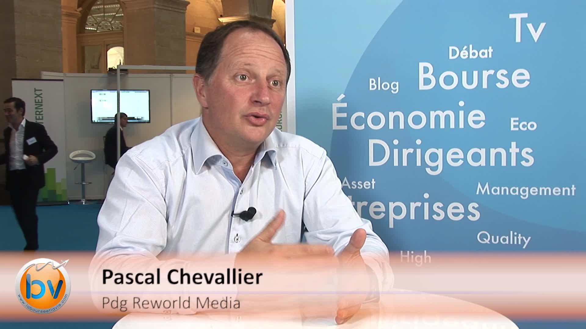"""Pascal Chevalier Pdg Reworld Media : """"Le marché des medias va bien, il faut juste gérer les transitions"""""""