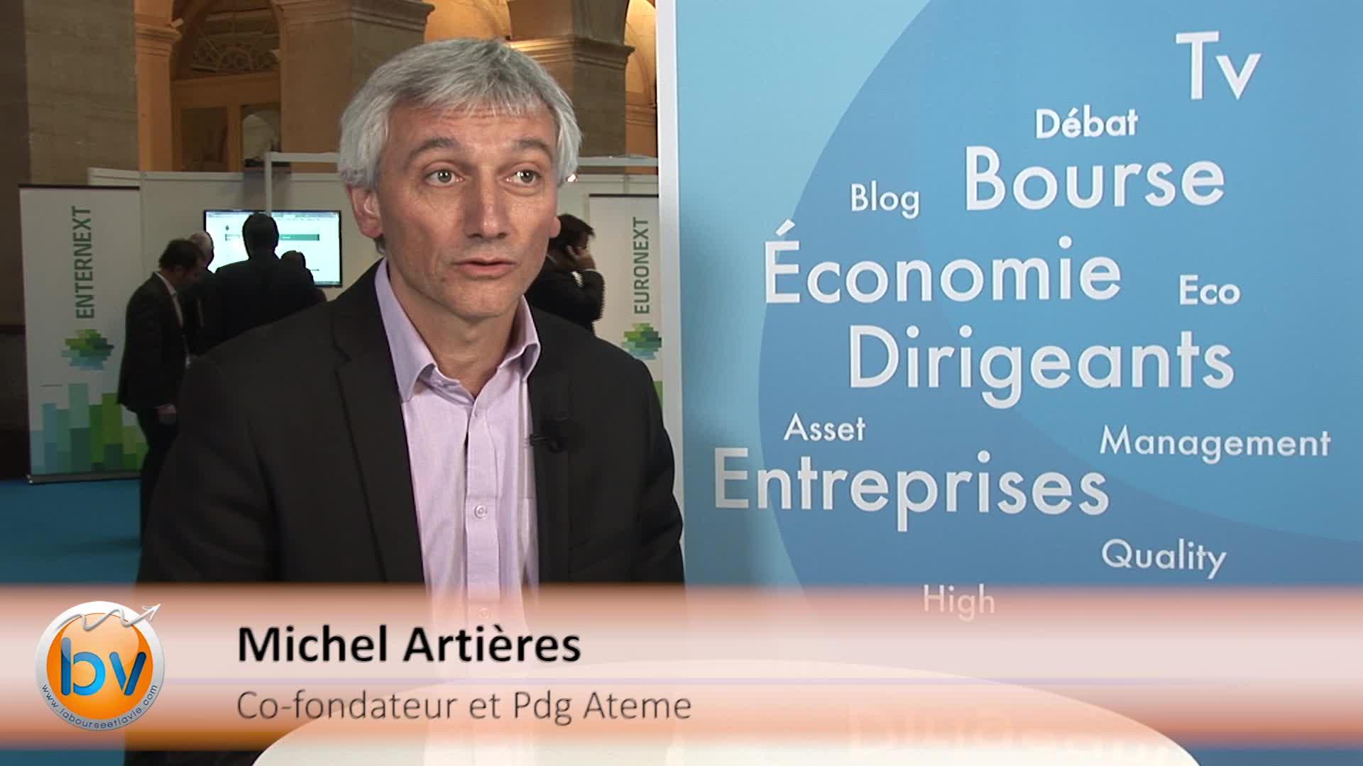 """Michel Artières Pdg Ateme : """"On va lancer la deuxième version de notre solution Titan à la fin de l'année"""""""